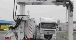 بازرسی کامیون به روش ایکس ری