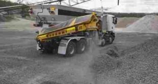 کامیون اسکانیا معدنی