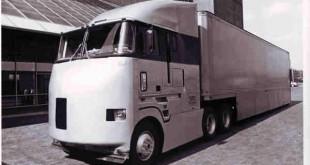 نخستین کامیون ایرودینامیک