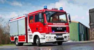 کامیون آتش نشانی مان