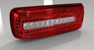 چراغ عقب و چراغ راهنمای LED ساخت Hella