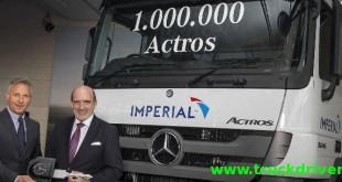 تولید یک میلیون کامیون اکتروس در کارخانه ورت