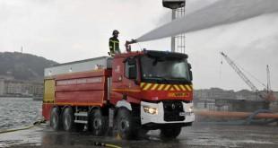 کامیون باری رنو k آتش نشان