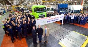 تولید ۴۰۰ هزارمین کامیون در کارخانه لیلاند