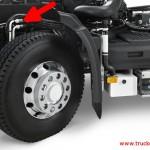 شیلنگ های روغن برای چرخ جلو کامیون رنو