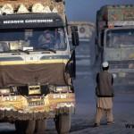 حضور گسترده کامیون بنز در افغانستان