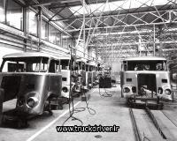 پنجاه سال تولید کابین کامیون داف
