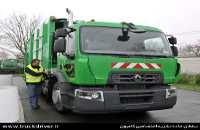 کامیون باری رنو D با موتور CNG