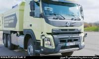 کامیون خودران بدون راننده ولوو اف ام ایکس