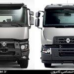 کامیون رنو C در دو طرح کابین