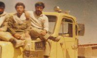 راننده کامیون ایرانی در جنگ ایران و عراق