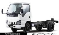 کامیونت ایسوزو 5.5 تن بهمن دیزل