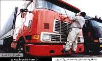 راننده کامیون ایرانی