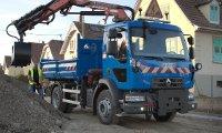 کامیون باری رنو D مختص زمستان