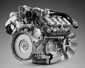 موتور خورجینی اسکانیا 8 سیلندر