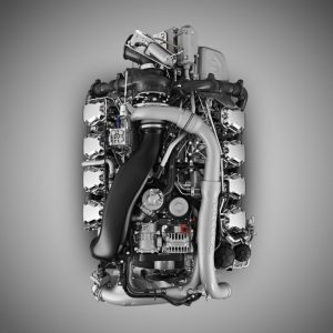 موتور هشت سیلندر جدید اسکانیا