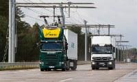 بزرگراه برقی کامیون