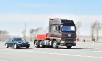 کشنده کامیون خودران بدون راننده فاو