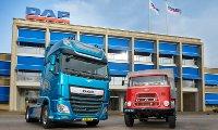 تاریخچه تولید شرکت کامیون داف